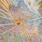 Center 1_mixed media on canvas_100 x 80 cm_39 x 31.5 n_2017