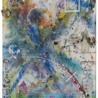 Narration No One_mixed media on canvas_110 x 90 cm_43 x 35 in_2015